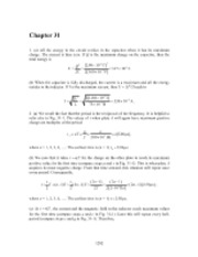 PHY2049 Chapter 31 Solutions