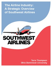 Airline Industry-Southwest Final Paper-1