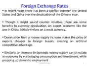 Is China devaluing its currency