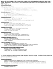 Revised MgtSc. 346Study Guide for MidTerm I 2012 (1)