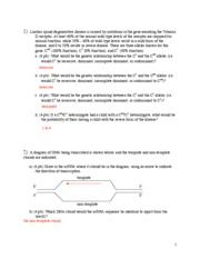 Sample Exam 3 key