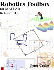 Robotics Toolbox for MATLAB Release 10 pdf - Robotics Toolbox for