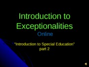 Session #3 Introduction to Special Education part 21