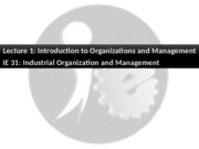 1-Intro to Org Management