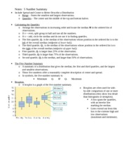 5-Number-Summary Notes