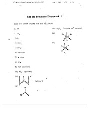 12. Symmetry homeworks 1-4
