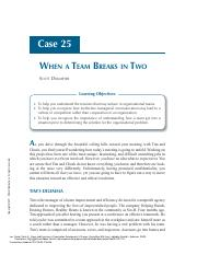 Cases_and_Exercises_in_Organization_Development__..._----_(Case_25_-_When_a_Team_Breaks_in_Two) (1).