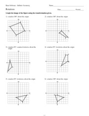 Reflections_Worksheet - Kuta Software Infinite Geometry Name ...