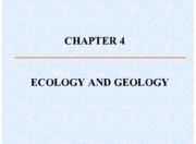 Geology Chapter 4
