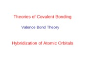 Lect 11. Theories of Covalent Bonding-2010