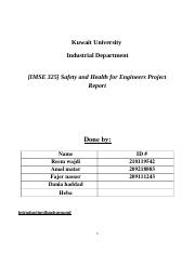 NOT OURS_safety project report