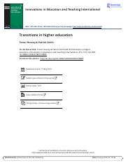 reading guide _final__Transitions in higher education