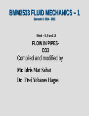 Chapter 3 Fluids Mechanics 1