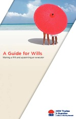 NSW Trustee  Guardian Guide for Wills