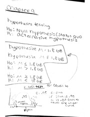 QMB 2 Hypothesis Testing Notes