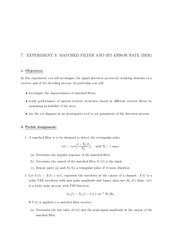 Lab and Assignment Manual 11