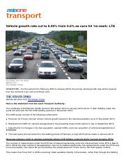 Vehicle growth rate cut to 0.25% from 0.5% as cars hit 1m mark: LTA.pdf