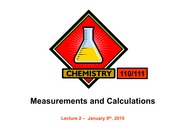 L2 Measurements and Calculations