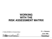 Chapter 3 Using the Risk Assessment Matrix