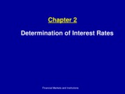 ch2_determination of Interest Rates