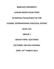 GROUP 1 INTERNATIONAL POLITICAL SYSTEM(ELECTIONS).docx