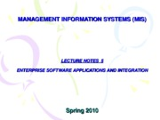 05-LECTURE NOTES 5 - IT INFRASTRUCTURE AND EMERGING TECHNOLOGIES