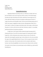 Medical Ethics Essay