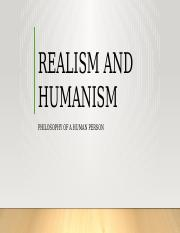 realism and humanism.pptx