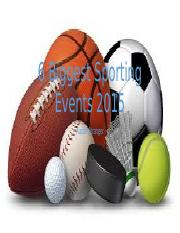 6 Biggest Sporting Events Powerpoint.pptx