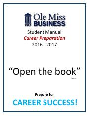 Career Prep Manual