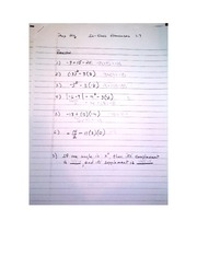 Assignment on 1.7 Pre Algebra
