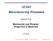 IE262-Lecture_2-a_Mechanical_and_Physical_Properties_of_Materials_