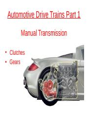 Automotive Drive Trains Part 1 (2016-2017).pptx