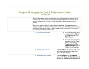 Project Management Quick Reference Guide1
