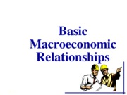 BasicMacroeconomicRelationships (Report)