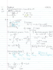 Chapter 14 Notes- Internal Energy