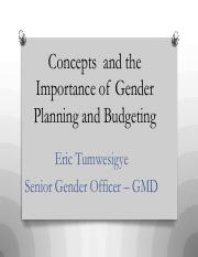 Concepts and importance of Gender Planning and Budgeting.pdf