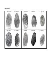 Female Decedent Fingerprints