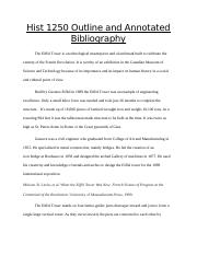 Outline and Annotated Bibliography.docx