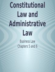 Constitutional Law and Administrative Law - Presentation.pptx