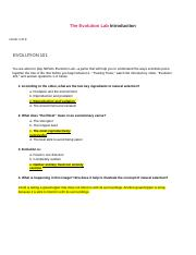 NOVA_Evolution_Lab_Mission 5.docx - The Evolution Lab ...