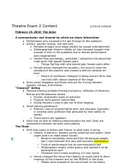 Theatre Exam 2 review.docx - Google Docs