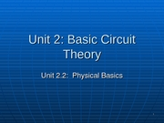 EE 302 - Lecture Slides - Unit_2[1].2___Physical_Basics