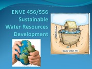 Lecture 4 - Water Quality Management