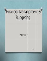 final management & budgeting.ppt
