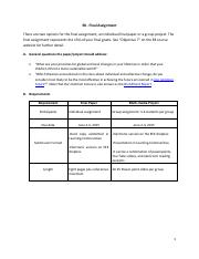 e mid study guide part i civil action professor whiteley has  3 pages fsfernan e8 final assignment rubric