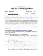 S.O Application