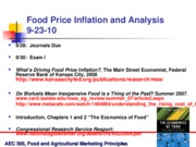 Sept 23 Food Price Inflation