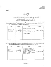Coulombs-Law-Worksheet-Answers