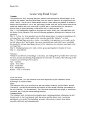 Leadership Final Report